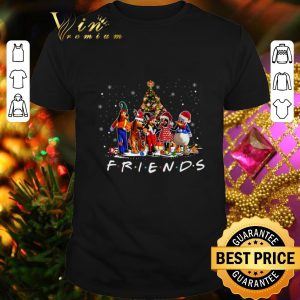 Awesome Friends Mickey Mouse characters Christmas tree Disney shirt