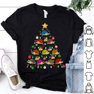 Awesome Funny Hedgehog Christmas Tree Ornament Decor Gift Cute shirt