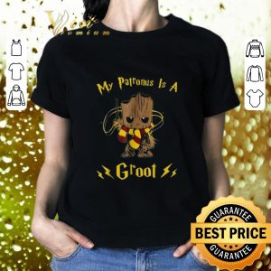 Awesome Harry Potter My patronus is a Baby Groot shirt 1