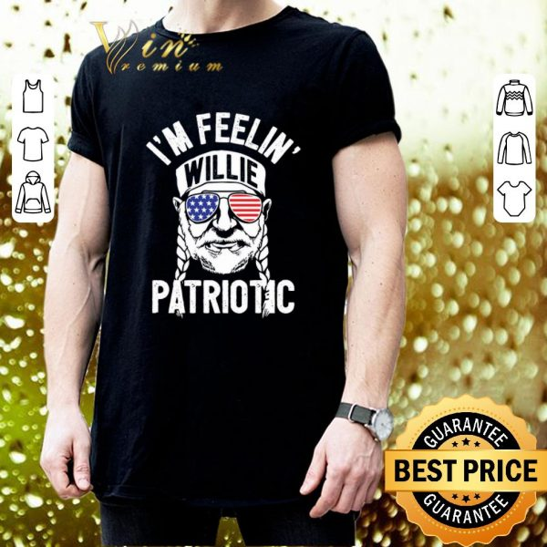 Awesome I'm feelin' patriotic independence day july 4th shirt