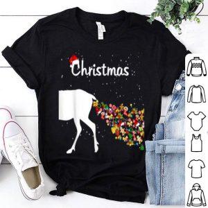 Beautiful Couples Sick Reindeer DIY Funny Ugly Christmas Sweater shirt