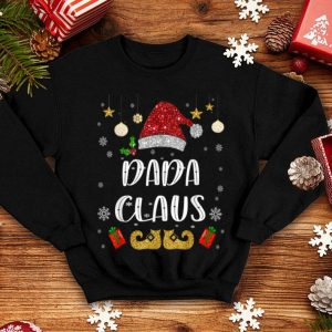 Beautiful Funny Santa Dada Claus Christmas Family Gifts sweater