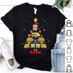 Beautiful School Bus Driver Christmas Tree Gift shirt