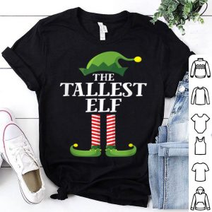 Beautiful Tallest Elf Matching Family Group Christmas Party Pajama shirt