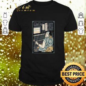 Best Audio Engineer Samurai shirt