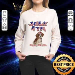 Best Beagle American 4th July independence day shirt
