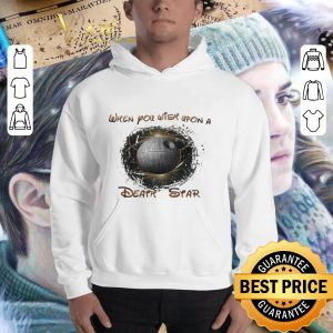 Best Disney Mickey Mouse when you wish upon a Death Star Star Wars shirt 2