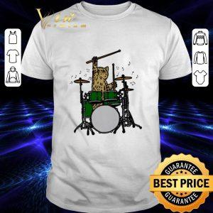 Best Drummer Cat Music shirt
