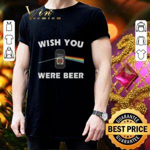 Best Mile Lite Pink Floyd wish you were beer shirt 2