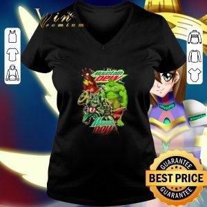 Best Mountain Dew Avengers Marvel shirt