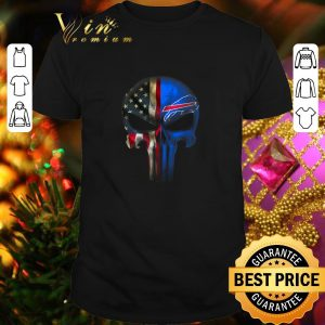 Best Punisher Skull American flag Buffalo Bills shirt