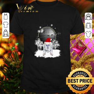 Best R2D2 Santa Christmas Death Star Star Wars shirt