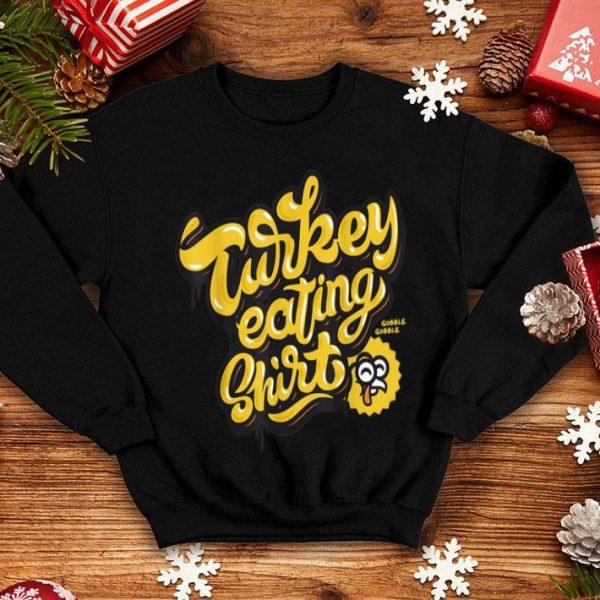Hot Gobble Gobble Turkey Eating Funny Thanksgiving shirt