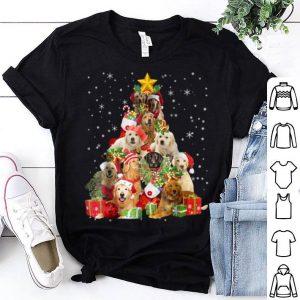 Hot Golden Retriever Christmas Tree Xmas Gift Dog Lover shirt