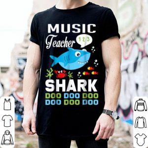Hot Music Teacher Teacher Shark Doo Doo Doo Christmas shirt