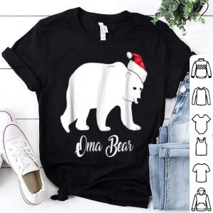 Hot Oma Bear Family Matching Xmas Pajamas Set Outfit shirt