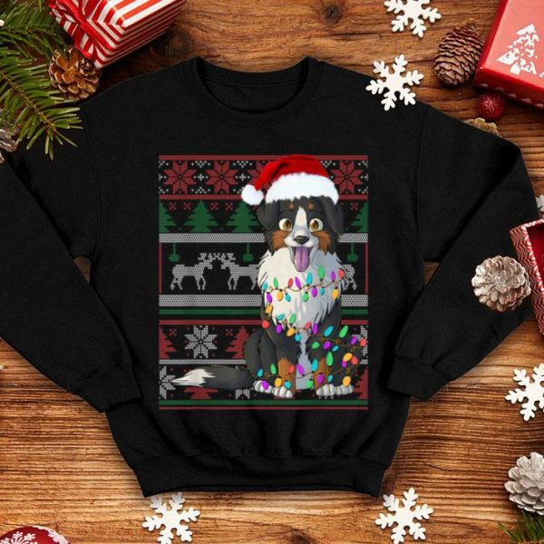 Nice Bernese Mountain Dog Ugly Sweater Christmas Gift shirt