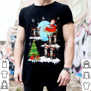 Nice Cute Boston Terrier Reindeer Christmas 2019 Dog Gift shirt