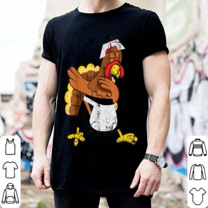 Nice Dabbing turkey pilgrim funny Thanksgiving gift for men women shirt
