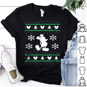 Nice Disney Mickey Mouse Christmas Sweater Print shirt