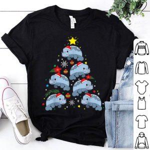 Nice Dugong Christmas Ornament Tree Funny Dad Mom Gift shirt