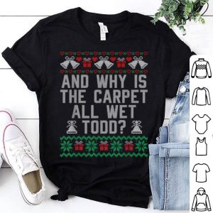 Nice Funny Ugly Christmas Sweater Todd And Margo Couples for Her shirt