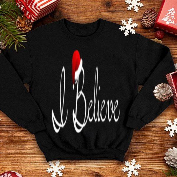 Nice I Believe Christmas - Santa Magic Christmas sweater