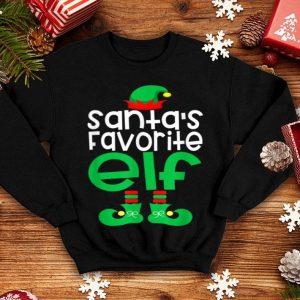 Nice Santa's Favorite ELF Funny Christmas Holiday Season sweater