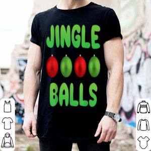 Nice jingle balls tinsel tits christmas shirt