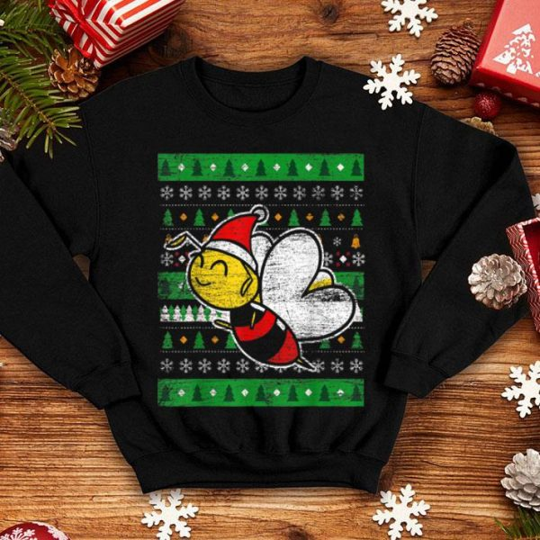 Official Beekeeper Honeybee Gifts Ugly Christmas Bee shirt