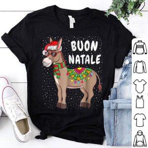Official Christmas Donkey Buon Natale American Italian Xmas shirt