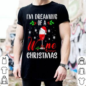 Official I'm Dreaming of a Wine Christmas Gifts For Men Women shirt