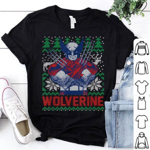 Official Marvel X-Men Wolverine Christmas Tree Ugly Sweater shirt