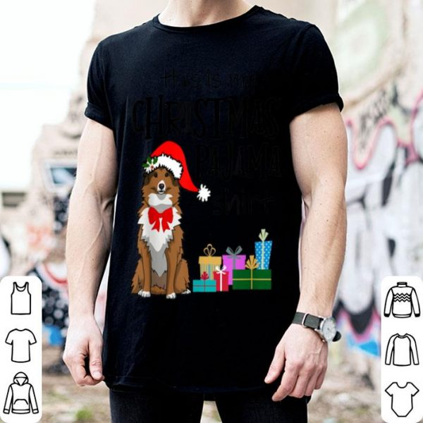 Official Shelties, Sheltie Christmas Pajama Sheltie Mom Gift sweater