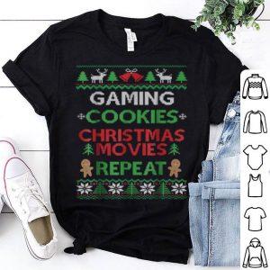 Original Gaming Ugly Christmas Pajama Funny Video Game Gift shirt