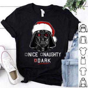 Original Star Wars Darth Vader Dark List Santa Christmas shirt