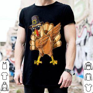 Original Thanksgiving Dabbing Turkey Pilgrim Day Gifts Idea shirt
