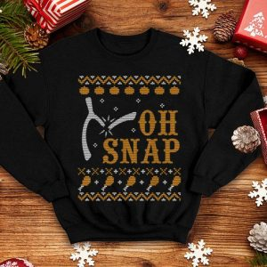 Original Tukey Bone Broken OH SNAP Ugly Sweat Happy Thanksgiving Day shirt