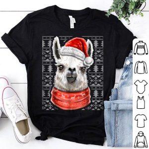 Original Ugly Christmas Sweater Llama Christmas Llama Gift Girl shirt