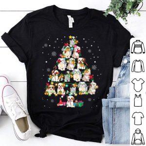 Premium Cute Shih Tzu Noel Xmas Tree Cool Christmas Shih Tzu Gifts shirt