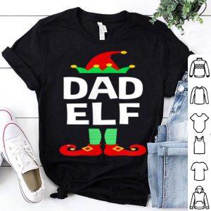 Premium Dad Elf Family Matching Christmas Pajamas sweater