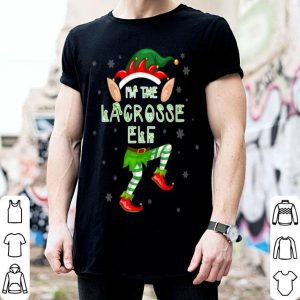Premium Lacrosse Elf Group Matching Family Merry Christmas shirt