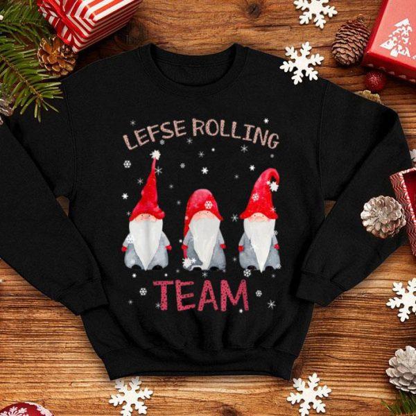 Premium Lefse Rolling Team God Jul Gnome Tomte Xmas Santa Christmas shirt