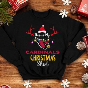 Pretty Christmas This Is My Team Football Arizona-Cardinal Fan sweater