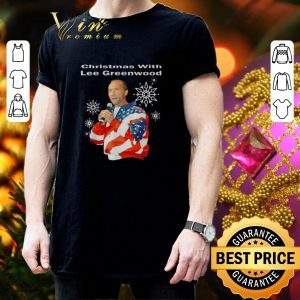 Pretty Christmas with Lee Greenwood American flag shirt 2