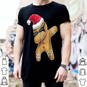 Pretty Dabbing Gingerbread Man Christmas Baking Kids Gift shirt