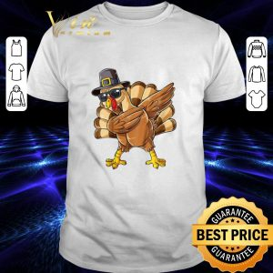 Pretty Dabbing chicken Turkey Thanksgiving shirt