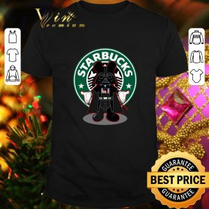 Pretty Darth vader Mickey Starbucks shirt
