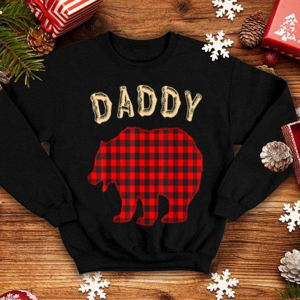 Pretty Mens DADDY BEAR Family Pajamas Matching Christmas Pajama PJs shirt