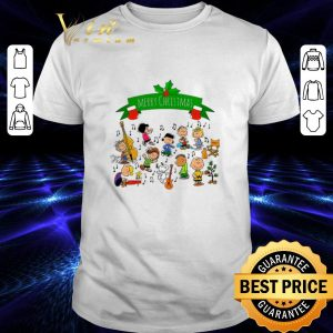 Pretty Merry Christmas Peanuts Friends shirt